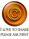 copyright button