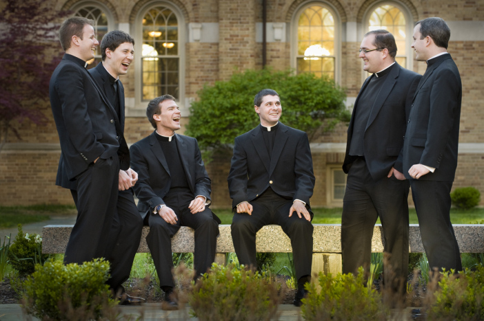 Lisa Johnston | lisajohnston@archstl.org Kenrick-Glennon Seminarians ordained as Transitional Deacons for the Archdiocese of St. Louis are (from left) Paul Hogan, Andrew Burkemper, Thomas Vordtriede, Paul Hamilton, Ryan Weber and Connor Sullivan.